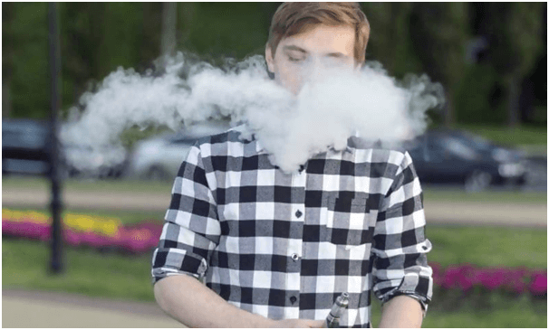 teen vaping